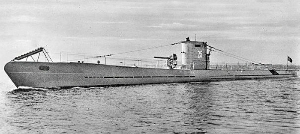 German U-Boat U-25